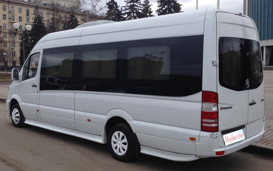 Заказ микроавтобусов на свадьбу с водителем недорого